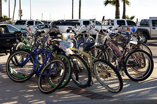 Beach: Bikes