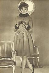 Julie Christine (Famous Fashionistas (First)) Tags: vogue 1960s dior 1961 vintagefashion vintagemagazine frenchvogue 1960sfashion juliechristine chistiandior