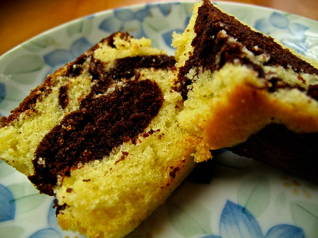 IMG_0936 Chocolate marble cake,大理石蛋糕