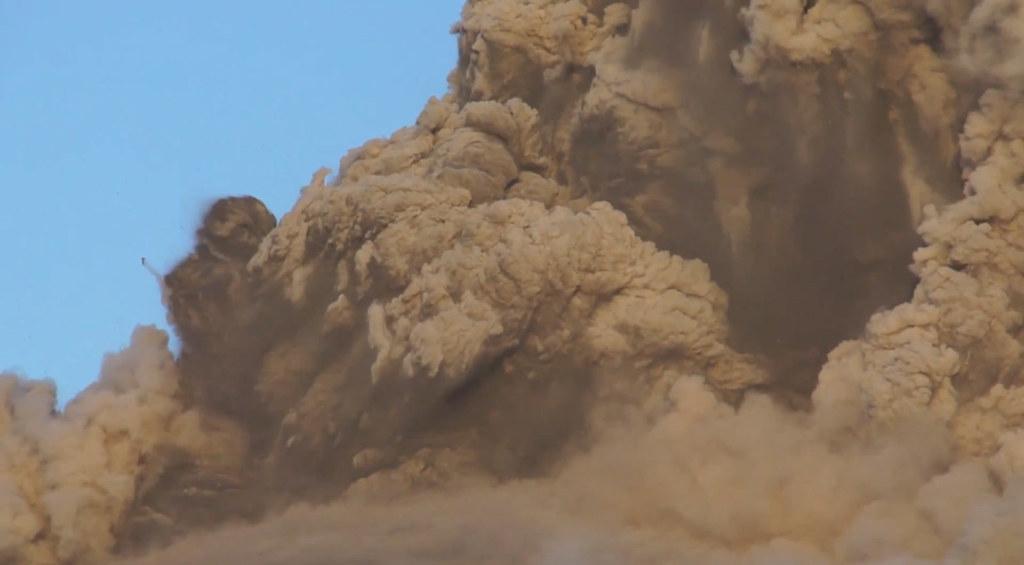 新燃岳 噴火 eruption