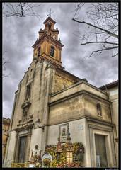 Iglesia de Nuestra Seora de la Misericordia (pacodonderis) Tags: valencia spain olympus kdd hdr algemesi campanar e510 flickraward concordians photoshopcreativo pacodonderis amicsdelacmera