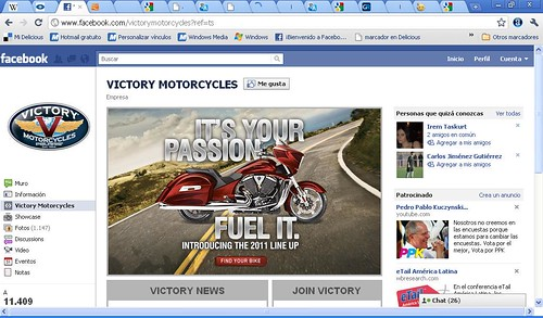 Victory Motorcycles Fan Page