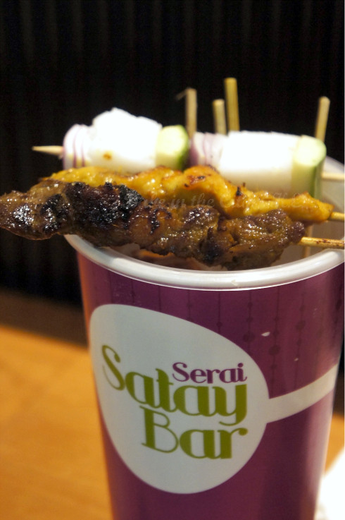 Chicken and Beef Satay Set (RM9.60)