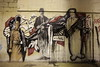 SIMPLY GENETIC (zFubz) Tags: street city urban lebanon art abandoned wall illustration graffiti stencil montana factory destruction spray weapon cans mass beirut ak47 kalashnikov bacha
