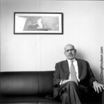 "<b>Mohamed ElBaradei</b><br/> Doug Knutson (LC '84) (Photography, 2007)<a href=""http://farm6.static.flickr.com/5097/5490358354_1fcfd26465_o.jpg"" title=""High res"">∝</a>"