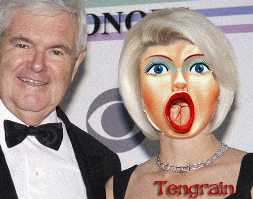 newt gingrich cry baby. Republican Newt Gingrich told