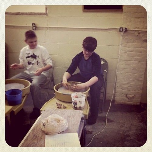 homeschool pottery