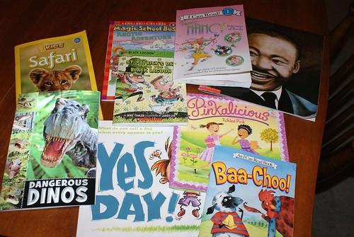 Scholastic Bookclub Books