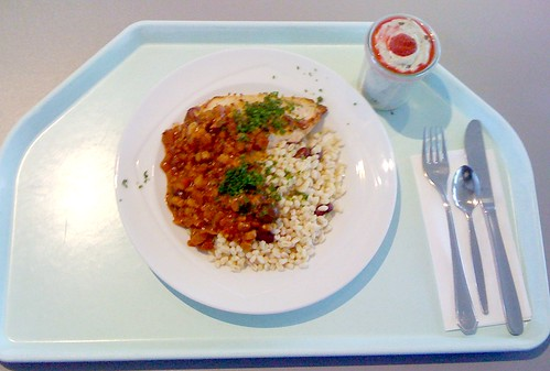 Hühnchen orientalisch / Chicken breast oriental style