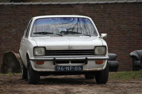 96-NF-86 Opel Kadett Coupe 1976. Datum eerste toelating 26-11-1976