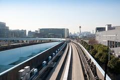 Yurikamome Tracks (rocketdogphoto) Tags: japan tracks minato yurikamomeline odaibaisland