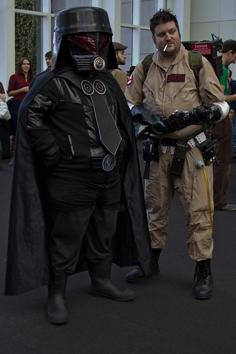 Ghostbuster and Dark Helmet