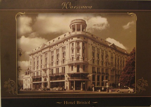 Bristol Hotel, Warsaw
