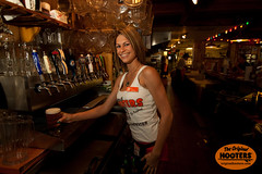 She knows how to pour 'em (originalhooters) Tags: beer bar tampa florida hooters taps fl pitchers bartender serving clearwater hootersgirls originalhooters meetahootersgirl