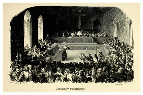 014-Juicio de Esmeralda--Notre-Dame de Paris 1844- edicion Perrotin Garnier Frères