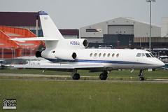 N25SJ - 186 - Private - Dassault Falcon 50 - Luton - 100526 - Steven Gray - IMG_2767