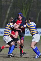 KB361195 Haagsche3 v Bekaro1 (KevinScott.Org) Tags: rugby denhaag roosendaal 2011 kevinscott kevinscottorg haagscherc bekarorc