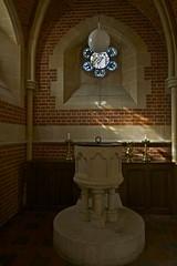 Baptistry (IanAWood) Tags: london raw stainedglass williammorris putney allsaintschurch churchwindows churchofengland morrisco d3x siredwardburnejones walkingwithmynikon nikkorpce24f35 surreychurches