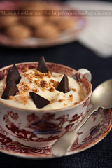 Crema di Mascarpone - Mascarpone Cream (Alessandro Guerani) Tags: food orange recipe chocolate cream crema arancio cibo cioccolato ricetta mascarpone amaretti
