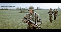 RB-4834 (Robert Bridgens) Tags: world 2 training soldier oak war ss camo german reenactment reenactor agm smock firearms planetree ksk 2011 mg42 k98 mg34 mp40 kampfgruppe peadot stahlkrieger