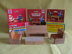 Estrela Puzzle Furniture (Retro Mama69) Tags: vintagetoys retrotoys childhoodtoys juguetesnrfb estrelapuzzlefurniture estrelaquebracabeca livingdamiudinha salinhadamiudinha toysmintcondition nrfbtoys dimestoretoys toysinpackage toysmadeinchina toysmadeinjapan