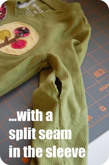 split seam tutorial