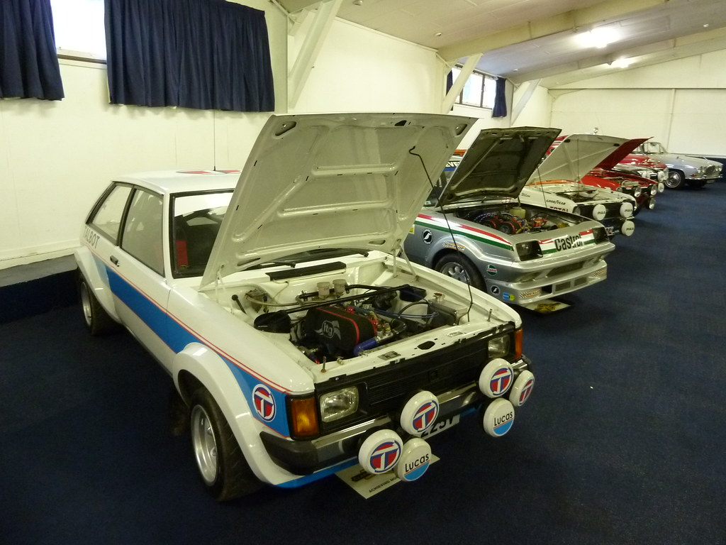 H & H Classic Auction - Rally Car Line Up