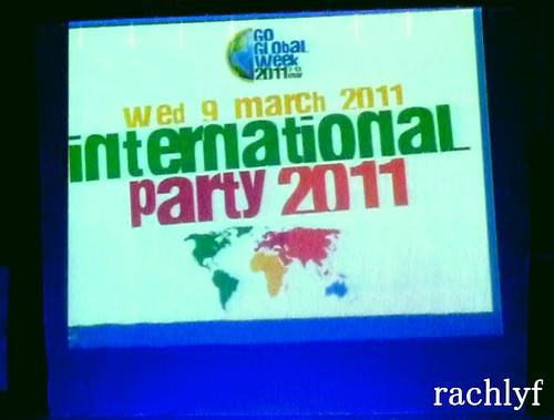 International Party Banner