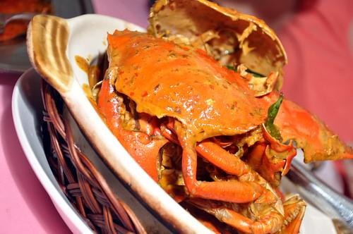Fei Fei Crab Kam Heong Buttered Crab
