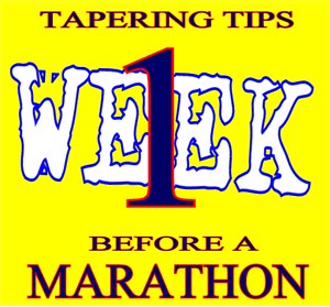 Tapering Tips Before a Marathon