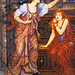 "Evelyn De Morgan (1855-1919), ""Queen Eleanor And Fair Rosamund"""
