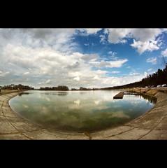 Day Seventy-four (ODPictures Art Studio LTD - Hungary) Tags: lake clouds canon landscape eos mirror hungary 365 hdr 500d highdinamicrange naplástó bestcapturesaoi orbandomonkoshu samyang8mmfisheyewideangle