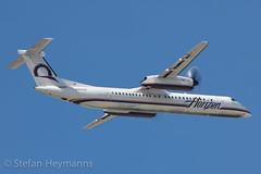 Horizon Air N430QX (Stefan Heymanns) Tags: california ca airplane aircraft horizon sanjose sjc spotting dash8 qx 2011 dehavillandcanada dhc8 horizonair sanjoseinternationalairport ksjc propblur dehavillandcanadadhc8 qxe n430qx