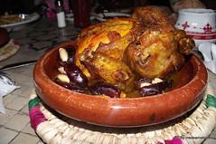 """Baby chicken with almond stuffed dates and honey sauce"" (medea_material) Tags: aljazeera doha qatar catar ajforum"