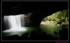 Natural Bridge, Springbrook National Park (CrossEyedCat) Tags: nature waterfall naturalbridge queensland cave goldcoast hinterland springbrooknationalpark