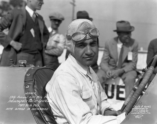 1925 Indianapolis 500 Winner Pete DePaolo