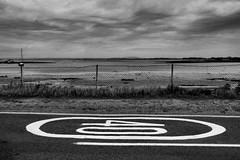 40 limit (justyourcofchi) Tags: road uk trip sea bw white black clouds coast model flickr photographer charlotte arnold chi farnborough chiarnold justyourcupofchicom justyourcupofchi