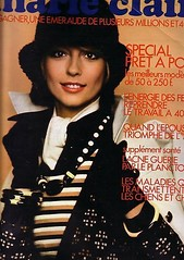Marie Claire-October 1972 (Fashion Covers Magazines (First)) Tags: 1972 marieclaire patou vintagefashion vintagemagazine 1970s jeanpatou marieclairemagazine 1970sfashion anneschaufuss