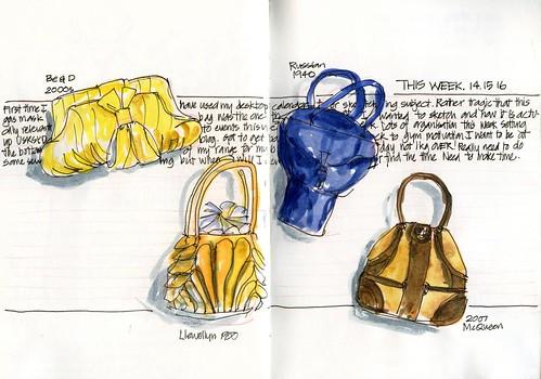 110317 Random Trivia this week- handbags WIP