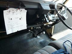 2cv Instructions (C.Elston) Tags: maroon citroen cream special devon 2cv driver instructions parked dolly gearbox 2cv6 layby d889sgk
