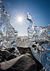 [フリー画像] テクスチャ・背景, 水・氷, 日光・太陽光線, 201103210700