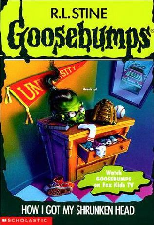 Goosebumps series by RL Stine