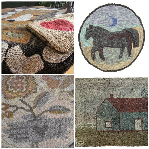 Rug Hooking ~ Antique Style by {studiobeerhorst}-bbmarie