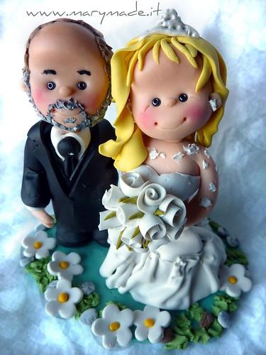 IL cake topper di Alex e Beatrice