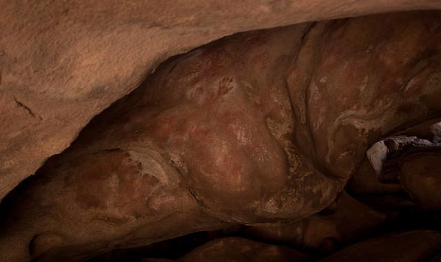 Art in Mulcas Cave, The Humps