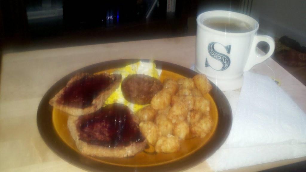 snowstorm breakfast