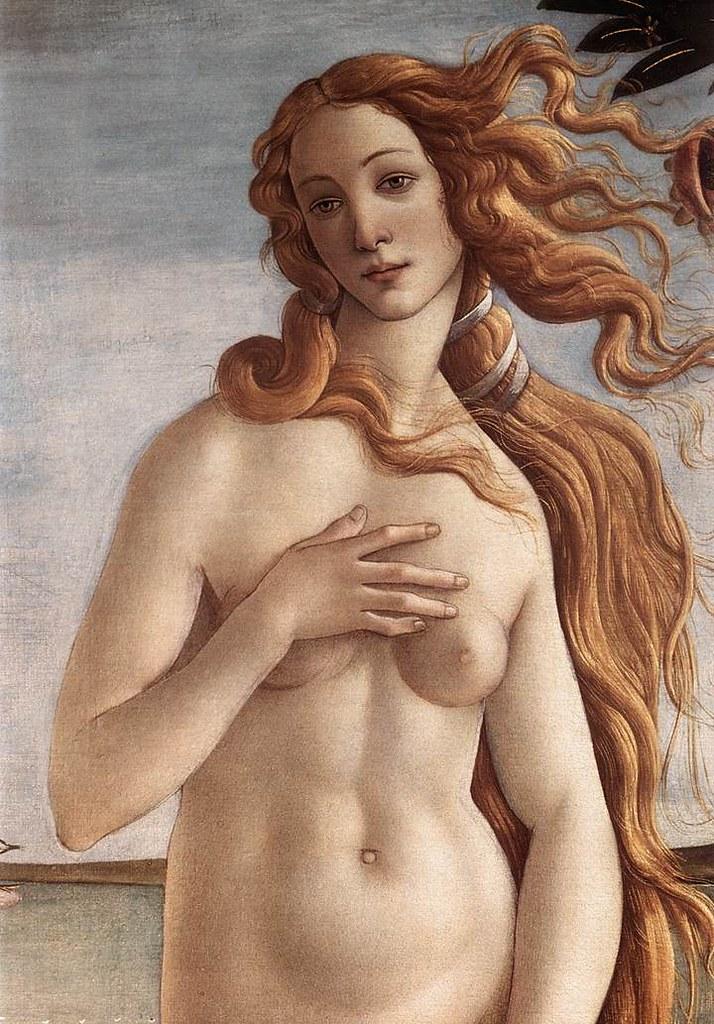 La naissance de Vénus - Détail