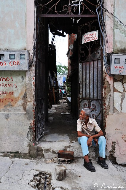 Man in Santiago de Cuba