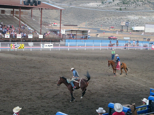 The Cody Night Rodeo in Wyoming