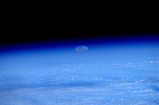 #Supermoon rise seen from space (1/6)